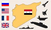 Bố phòng lực lượng của các bên trước cuộc không kích Syria