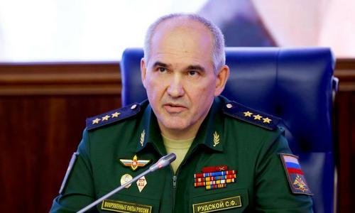 Cục trưởng Cục tác chiến Bộ Tổng tham mưu quân đội Nga Sergei Rudskoi. Ảnh: RT.
