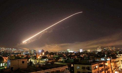 Ba người bị thương trong cuộc không kích của Mỹ ở Syria