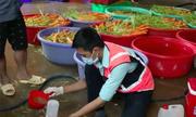 Hơn 6 tấn rau củ ở Sài Gòn bị tẩy trắng bằng hoá chất