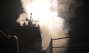 Mỹ công bố video nã tên lửa Tomahawk vào Syria