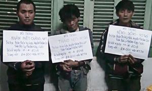 Ba người Lào vận chuyển 24.000 viên ma túy vào Việt Nam