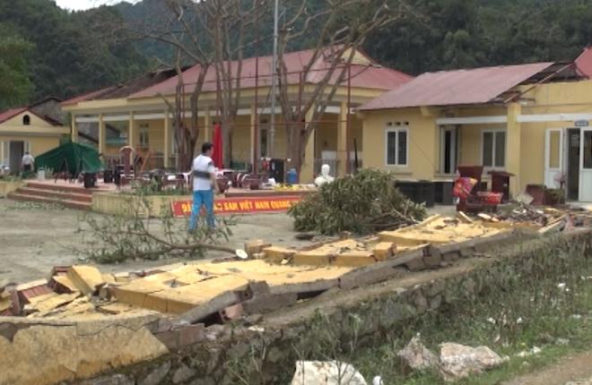 Hơn 1.500 nhà tốc mái sau mưa đá ở Cao Bằng, Bắc Kạn