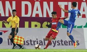 Hải Phòng 0-2 Quảng Nam