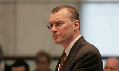 Luật sưDavid Buckel tại New Jersey năm 2006. Ảnh: AP.