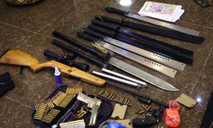 Phát hiện biệt thự nhiều vũ khí khi điều tra vụ 2 cha con bị bắn