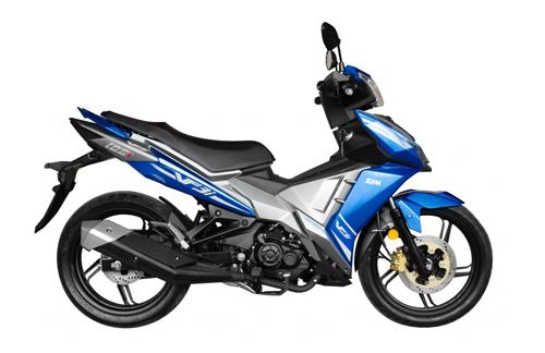 SYM VF3i - mẫu underbone mới cho thị trường Malaysia.
