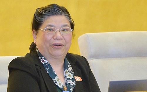 Phó chủ tịch Quốc hội Tòng Thị Phóng. Ảnh: QH