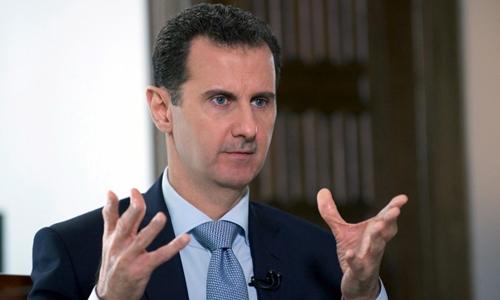 Tổng thống Syria Assad trong một cuộc phỏng vấn với truyền thông Nga tháng 3/2016. Ảnh: Reuters.