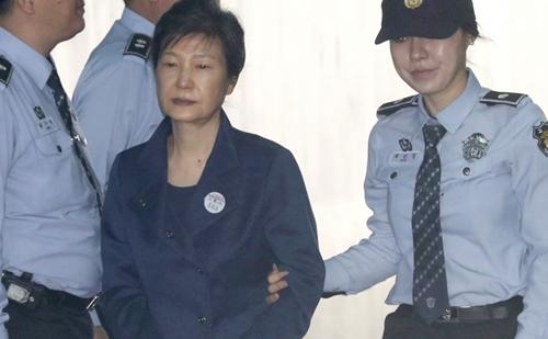 Bà Park trong phiên tòa hôm