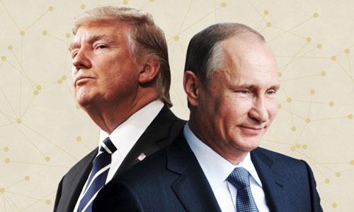 Tổng thống Mỹ Donald Trump (trái) và Tổng thống Nga Vladimir Putin. Ảnh: CNN.
