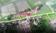 Đường dây tải điện áp cao lập hàng loạt kỷ lục ở Trung Quốc