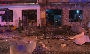 Nhân viên quên khóa gas gây ra vụ nổ nhà hàng ở Nghệ An