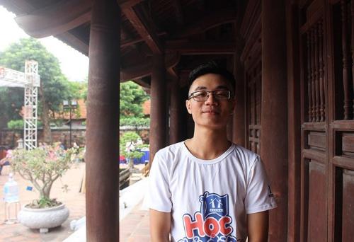 Phạm Đình Dương - Thủ khoa Viện Điện - Đại học Bách khoa Hà Nội năm 2017