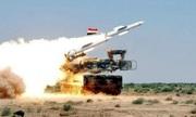 Syria phóng tên lửa phòng không vì báo động giả