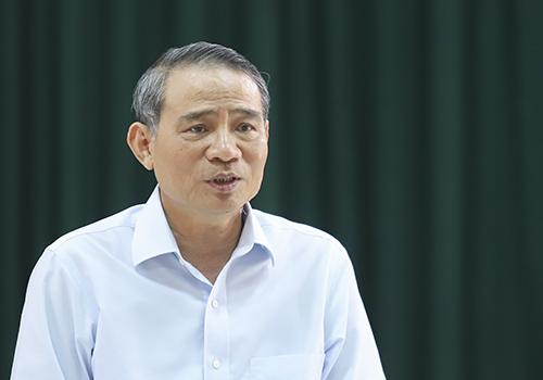 Ông Trương Quang Nghĩa phát biểu kết luận buổi làm việc. Ảnh: Nguyễn Đông.