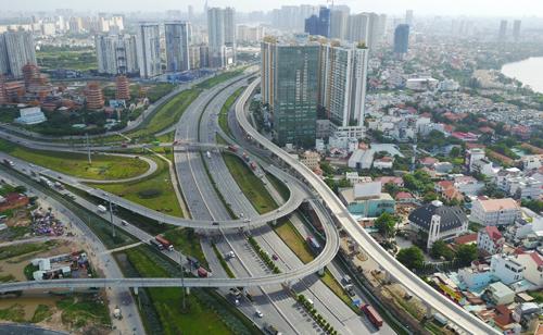 Khu Đông TP HCM có tốc độ đô thị hóa rất cao. Ảnh: Quỳnh Trần.