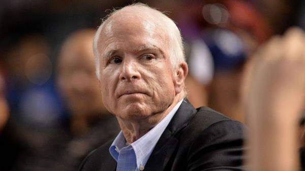 Thượng nghị sĩ John McCain. Ảnh: Axios.
