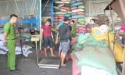 21 tấn phế phẩm cà phê nhuộm bột pin được thu giữ
