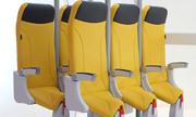Mẫu ghế yên ngựa giúp tiết kiệm không gian trên máy bay