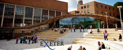 Đại học Exter với học bổng tới 3.000 GBP.