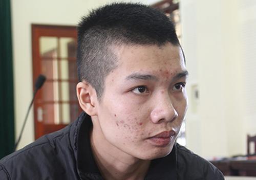 Lương Văn Vọng tại tòa. Ảnh:Hải Bình