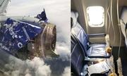 Giây phút kéo trở lại hành khách bị hút khỏi máy bay nổ động cơ Mỹ