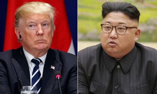 Tổng thống Mỹ Donald Trump và lãnh đạo Triều Tiên Kim Jong-un sẽ gặp nhau vào cuối tháng 5 hoặc đầu tháng 6. Ảnh: AP.