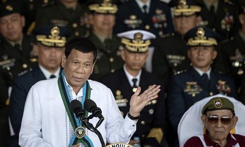 Ông Duterte nói đã đích thân ra lệnh bắt giam nữ tu sĩ người Australia. Ảnh: AFP.