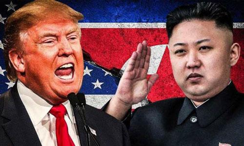 Tổng thống Mỹ Donald Trump (trái) và lãnh đạo Triều Tiên Kim Jong-un. Ảnh: CNN.