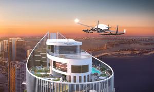 Công ty Mỹ xây bãi đáp cho xe bay trên nóc chung cư