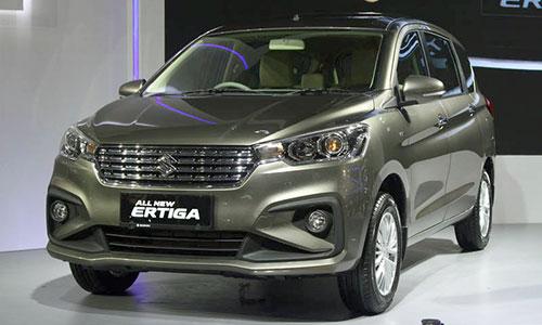 Suzuki Ertiga thế hệ mới thay đổi thiết kế.