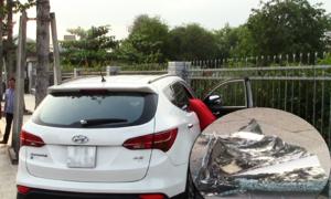 Ôtô đậu trên vỉa hè bị đập vỡ kính, mất hơn một tỷ đồng