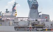 Ba tàu Hải quân Hoàng gia Australia cùng đến TP HCM