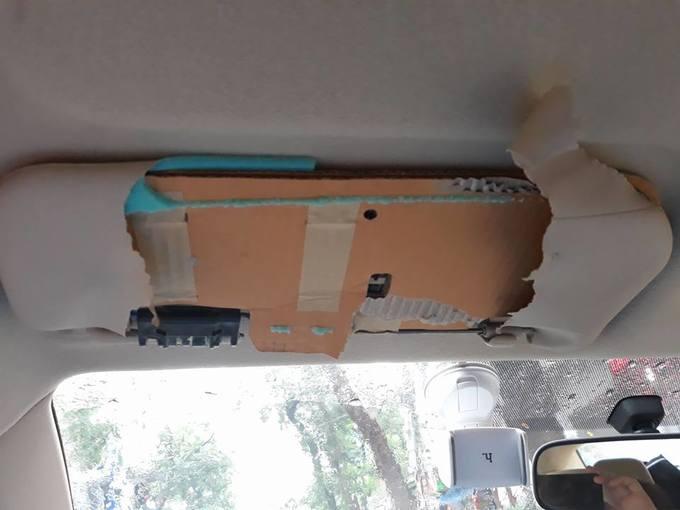 Có gì bên trong tấm chắn nắng ôtô của các hãng xe