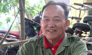 Cựu binh mua phế liệu làm xe đạp tặng học sinh nghèo