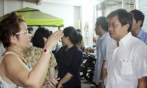 Hàng trăm xe máy ở chung cư cũ bị ông Đoàn Ngọc Hải tạm giữ