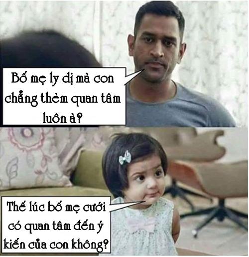 Bố choáng váng với lời đáp trả của con gái