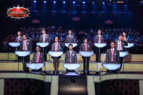 12 thí sinh bước vào vòng Chung kết Chinh Phục mùa 3.