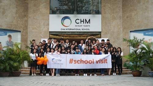 School Visit là chuỗi chương trình hội thảo hướng nghiệp dành cho đối tượng chính là học sinh THPT tổ chức thường niên tại CHM.