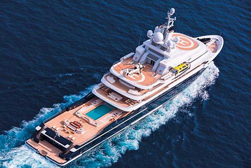 Lunalà du thuyền thám hiểm lớn thứ hai trên thế giới. Ảnh:Superyacht Times