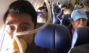 Hành khách trả 8 USD để mua Wifi vào Facebook khi máy bay nổ động cơ