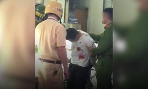 Cảnh sát bắt giữ người đàn ông cướp tiệm vàng ở Hà Nội