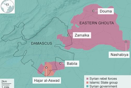Vị trí thịt rấn Hajar al-Aswad. Đồ họa: BBC.