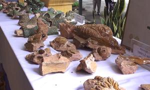 Phát hiện nhiều di vật cổ ở Hoàng Thành Thăng Long