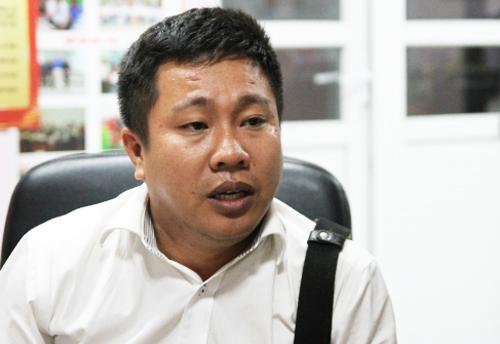 Ông Nguyễn Thành Chung sửa sang trường, lên chương trình đào tạo liên kết nước ngoài nhưng hiện không thể tuyển sinh. Ảnh: Thùy Linh