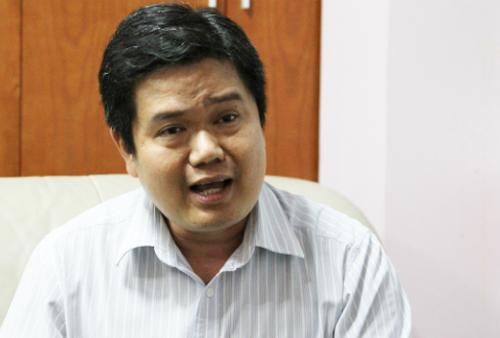Ông Trần Quốc Bình cho biết vẫn phải bù lỗ khi thực hiện chương trình liên kết với GWIS từ 2015. Ảnh: Thùy Linh