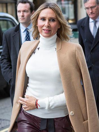 BàAkhmedova tại tòa án London hồi tháng một. Ảnh: PA