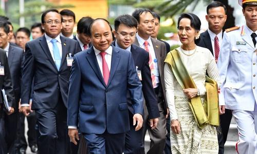Hai ngày thăm chính thức Việt Nam của bà Suu Kyi
