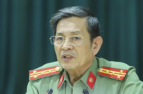 Đại tá Lê Văn Tam - Giám đốc Công an TP Đà Nẵng. Ảnh: Nguyễn Đông.